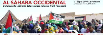 La lluita contra l'espoli al Sàhara Occidental. Defensant la sobirania dels recursos naturals front l'ocupació