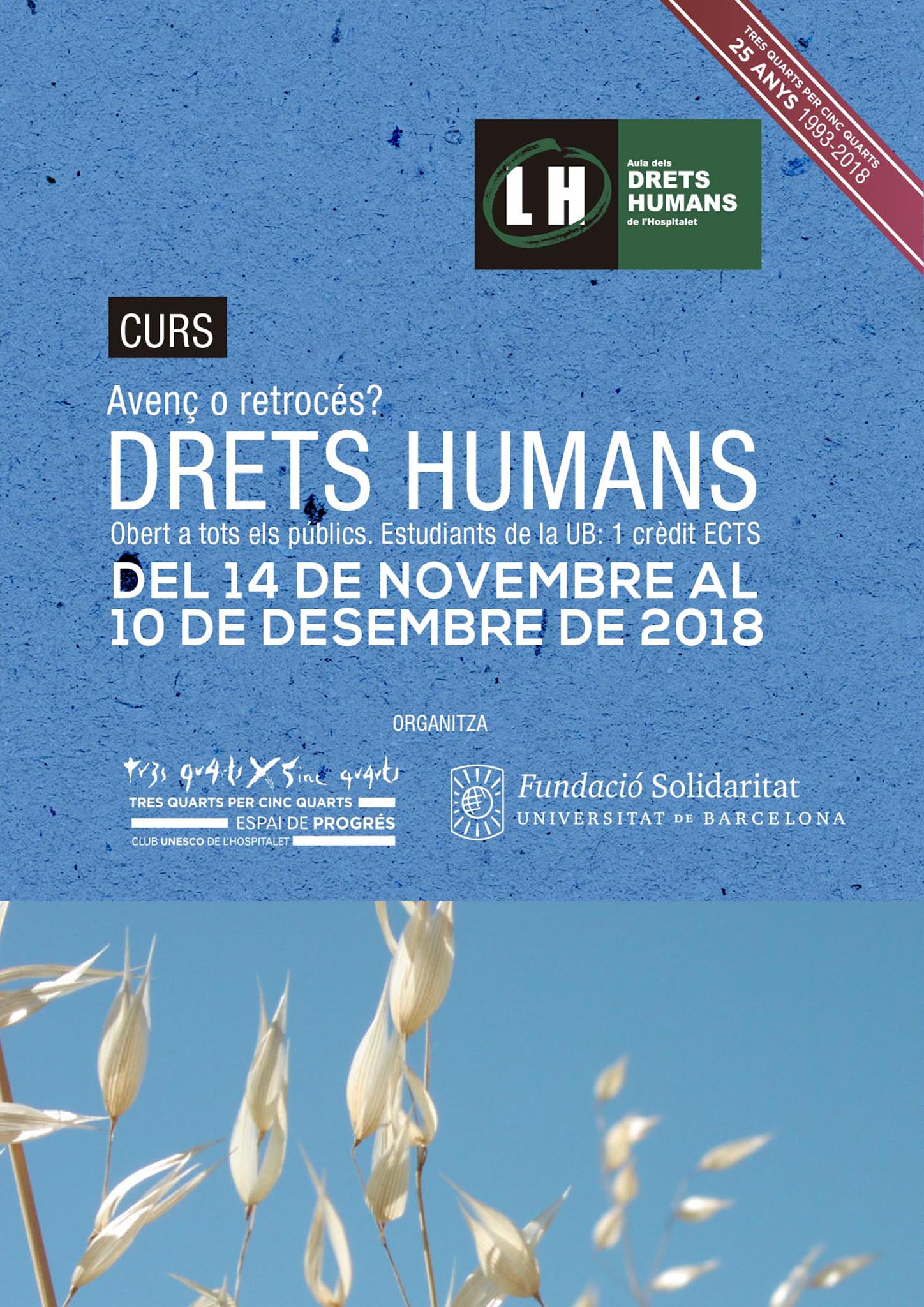 Drets humans, avenç o retrocés?