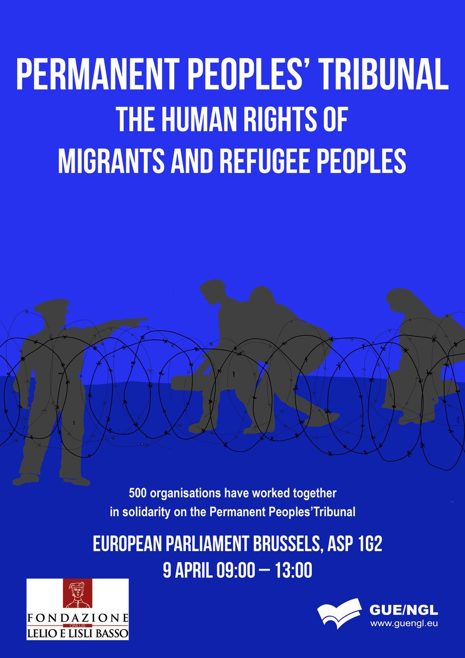 Permanent Peoples' Tribunal Session on the human rights of migrants and refugee peoples