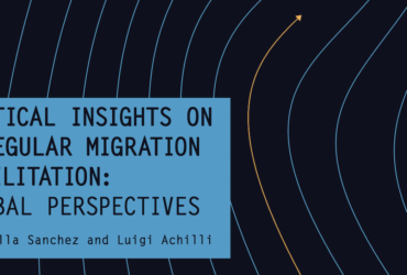 Llibre Critical Insights on Irregular Migration Facilitation: Global Perspectives