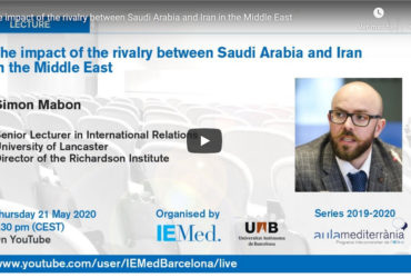 [Vídeo] Conferència The impact of the rivalry between Saudi Arabia and Iran in the Middle East